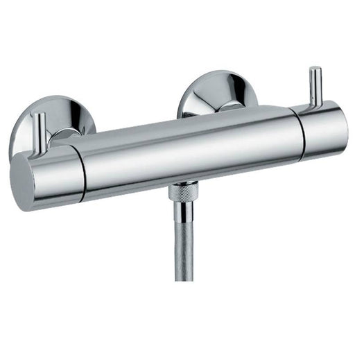 Abode Harmonie Exposed Thermostatic Bar Shower Valve in Chrome