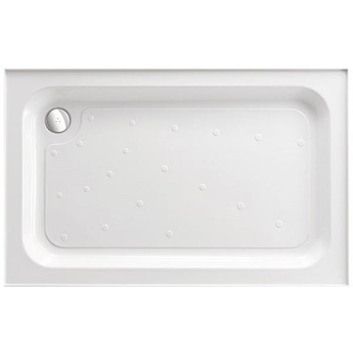 Just Trays Fusion Shower Tray Waste - 90mm Wide - Chrome