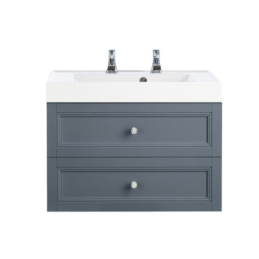 Heritage Caversham 2 Drawer Wall Hung Vanity Unit