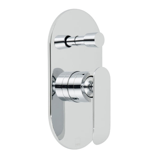 Vado Kovera Concealed Single Lever Wall Mounted Manual Shower Valve With Diverter