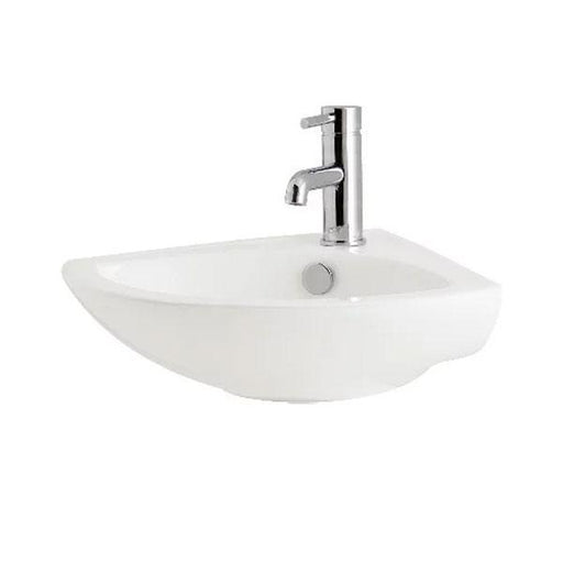 Kartell G4K Corner Basin - 410mm Wide - White