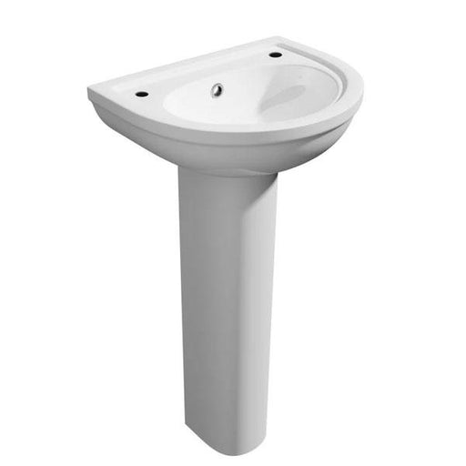 Kartell Lifestyle Basin and Pedestal - White