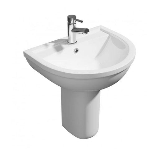 Kartell Lifestyle Basin and Semi Pedestal - White