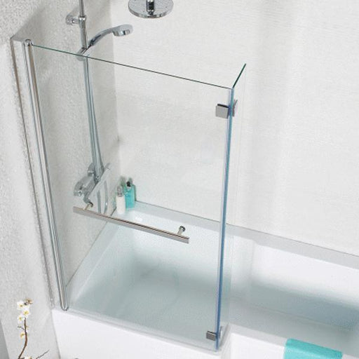 Kartell Koncept L-Shaped Tetris Shower Bath Screen - 6mm Glass