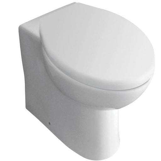 Kartell G4K Back To Wall Toilet - Soft Close Seat - White