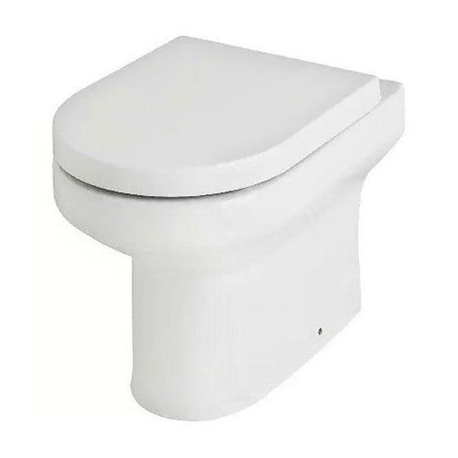 Kartell Revive Back To Wall Toilet - White