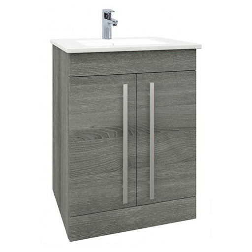 Kartell Purity 2-Door Floor Standing Vanity Unit with Basin
