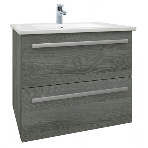 Kartell Purity 2-Drawer Wall Mounted Vanity Unit with Basin