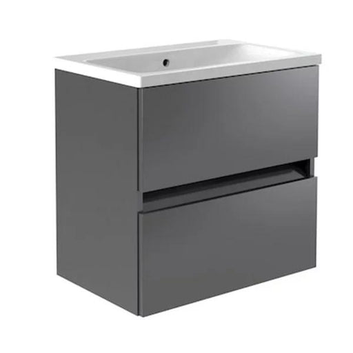 Kartell Ikon 2-Drawer Wall Mounted Vanity Unit with Basin