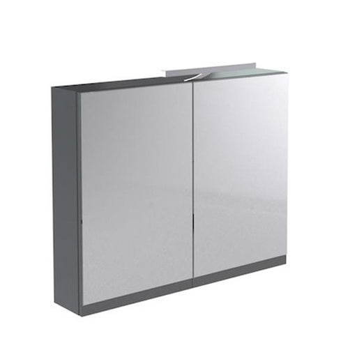 Kartell Ikon Mirrored Cabinet with Light and Shaver Socket