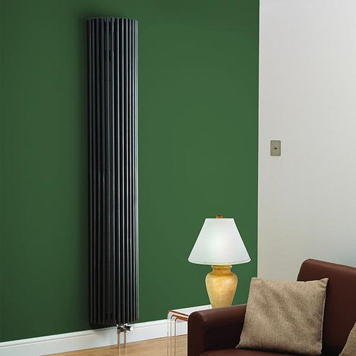Kartell Cincinnati Designer Radiator - 2000mm High x 276mm Wide - Anthracite