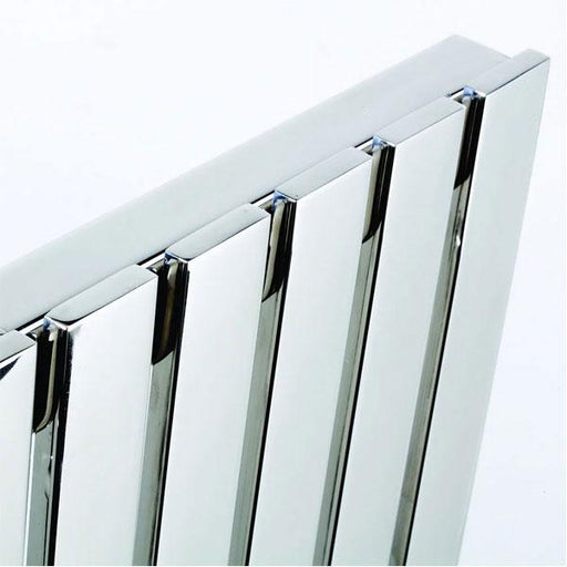 Kartell Florida Horizontal Designer Radiator - Polished Stainless Steel