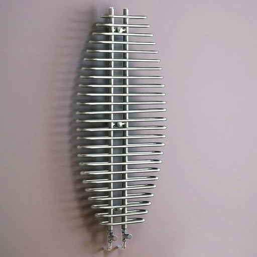 Kartell San Jose Designer Radiator - 1300mm High x 600mm Wide - Chrome