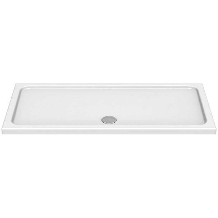 Kudos Kstone Rectangular Shower Trays - White