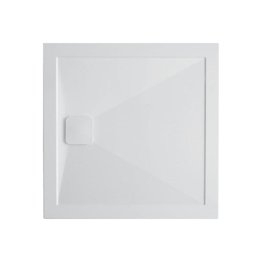 Crosswater Kai 25mm Square Stone Resin Shower Tray