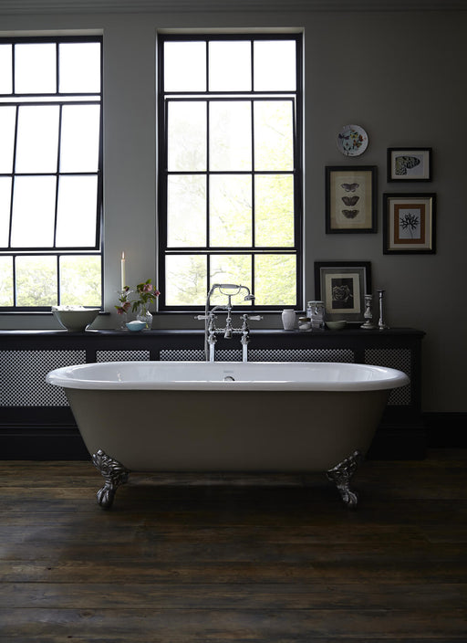 Heritage Buckingham Roll Top Freestanding Cast Iron Bath