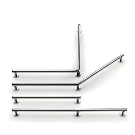 Lakes Series 400 Double Shower Handrail - Chrome