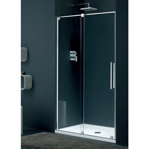 Lakes Italia Barletta Sliding Shower Door - Silver