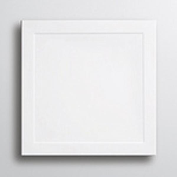Lakes Low Profile Square Shower Tray - Stone Resin - White