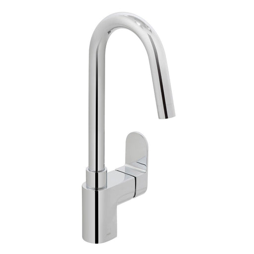 Vado Life Mono Sink Mixer Single Lever Deck Mounted With Swivel Spout