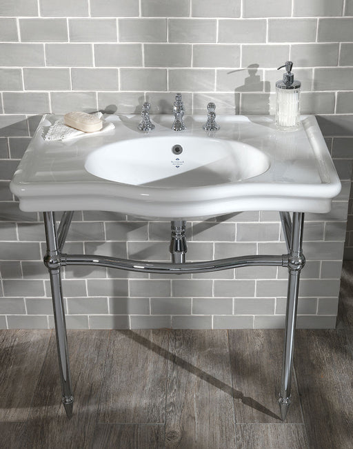 Silverdale Loxley 860mm Basin with Stand/Leg Set