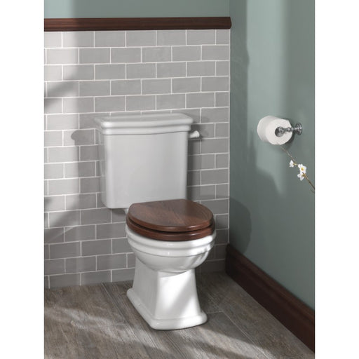 Silverdale Loxley Closed Coupled Toilet with Seat & Cistern