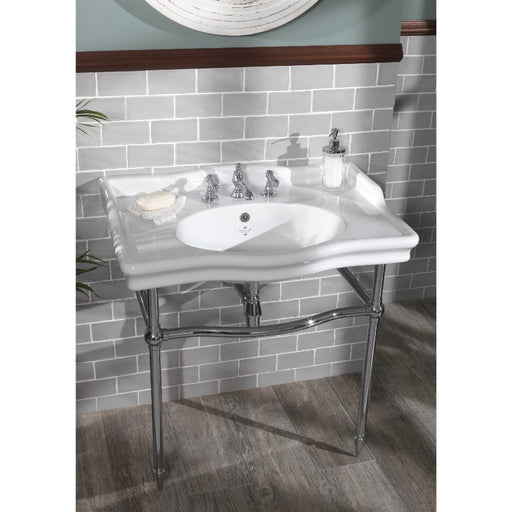 Silverdale Loxley Classic 860mm Basin with Stand/Leg Set