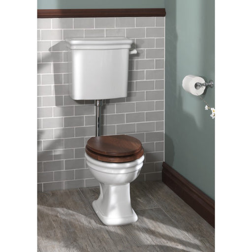 Silverdale Loxley White Low Level Cistern & Fittings