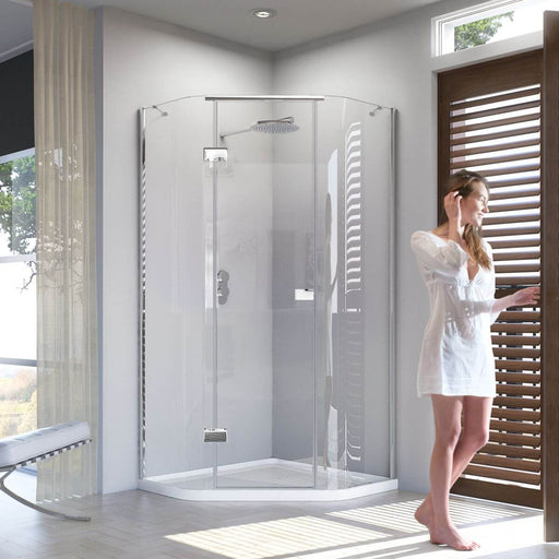 Matki New Illusion Quintesse Shower Enclosure With Integrated Tray