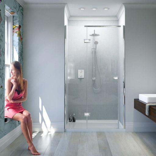 Matki New Illusion Recess Shower Door With Integrated Tray
