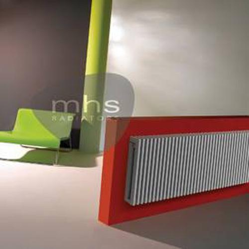 MHS Zana Multi Steel White Horizontal Designer Radiators