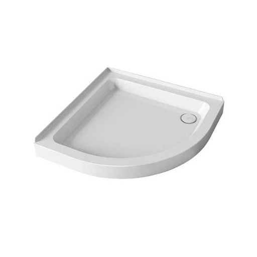 Mira Flight Quadrant Shower Tray And Waste - White