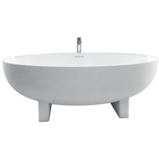 Clearwater Lacrima Bath 169 x 56h x 80cm - Natural Stone
