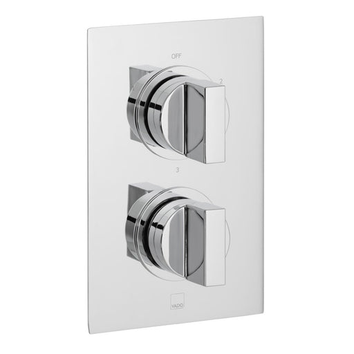 Vado Notion Three Outlet Trim For 148D/3 Thermostatic Valve