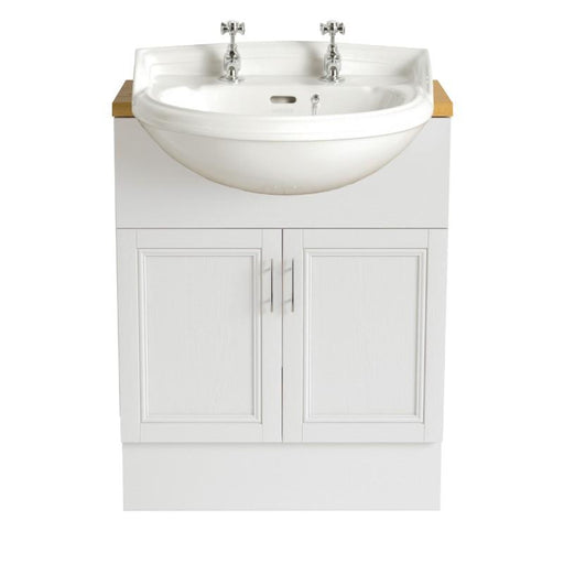 Heritage Dorchester Semi-Recessed Basin