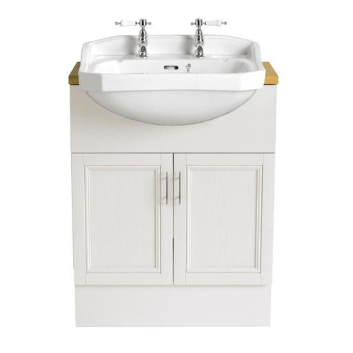 Heritage Granley Semi-Recessed Medium Basin