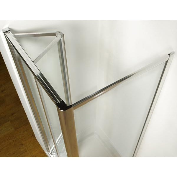 Kudos Original Wall Profile Extension Post 110mm - Silver Frame