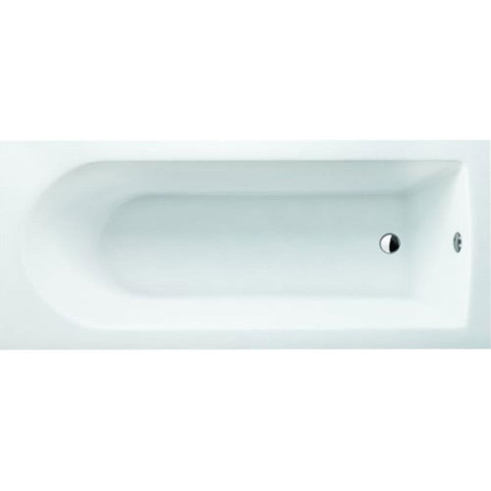 Cleargreen Reuse Single Ended Round Bath - White