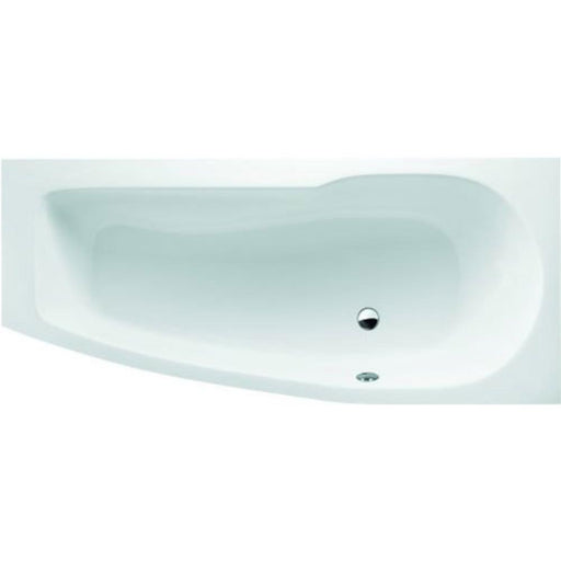 Cleargreen Ecocurve Bath 170 x 50/75cm - White