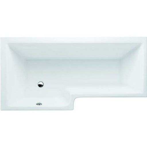 Cleargreen Ecosquare Bath 170 x 70/85cm - White