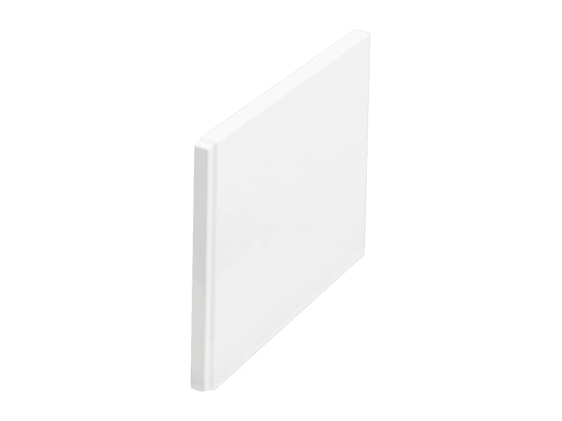 Cleargreen Enviro Double Ended Square End panel - White