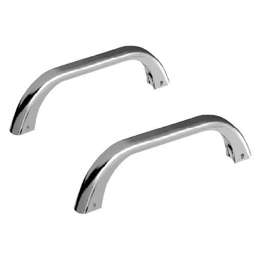 Cleargreen Bath Grips (pair) 220mm - removable - Chrome