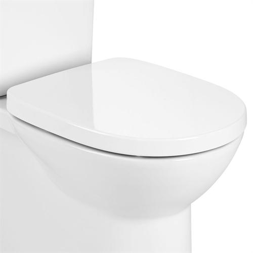 Roca Debba Round Soft Close Seat - White