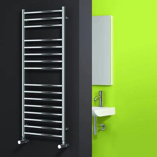 Reina Lima Flat Electric Thermostatic Towel Rail - Chrome