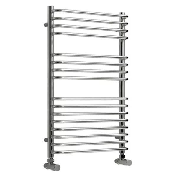 Reina Isaro Vertical Designer Towel Rail - Chrome
