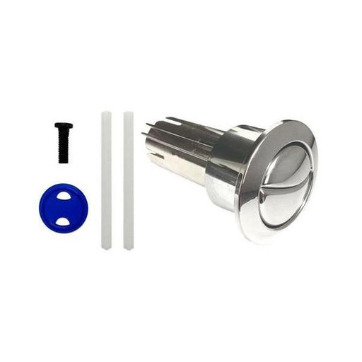 Roca D1D Dual Flush Push Button - Chrome