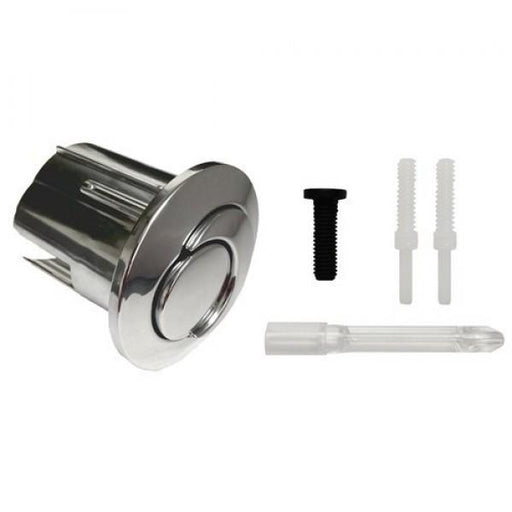 Roca D2D Dual Flush Push Button - Chrome