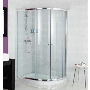 Roman Haven One Door 900 x 1200mm Offset Quadrant Shower Enclosure