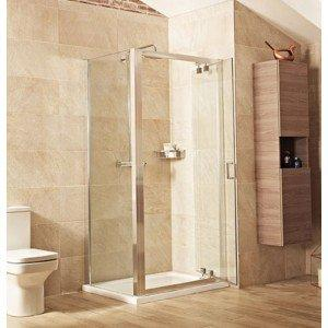 Roman Lumin8 1200mm Inswing in-line shower door