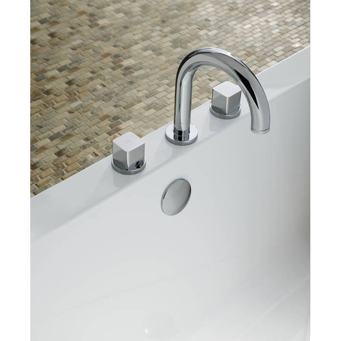 Abode Fervour/Rapture Thermostatic 3 Hole Bath Filler - Chrome